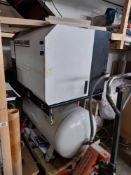 Ingersoll-Rand ML4 7.5 Bar cabinet compressor, on