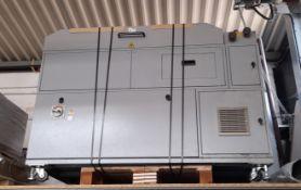 Duplo UV coater (located on mezzanine floor)