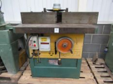 Wilson FG spindle moulder 415V, 3 phase, 50Hz