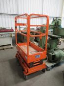 Mobile Ariel Work Platform JCPT with Electronic Rise and Fall