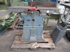 A Cooksley And Co Planer Thicknesser, 400V, 3PH, 50Hz.Please note there is a £10 Plus VAT Lift Out