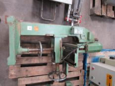 NU Tools 61-10 Hollow Chisel Mortiser. YOM: 1985, 240V, Single Phase, 50Hz. Please note there is