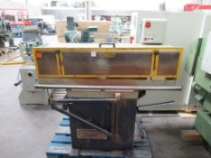 Sedgwick EJ End jointer with long spindle and cut off saw, 415V 3PH, 50Hz.