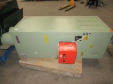 Powermatic CP0150 gas and oil cabinet heater s/n H15FH162