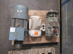 Pallet to Contain3 x Electric Motors to include Lafert VEM and Siemens. Please note there is a £10