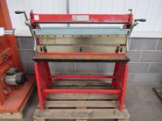 Holzmann UBM 1070 sheet metal folder/guillotine
