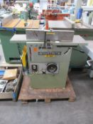 Startrite PT260 Planer thicknesser, 415V, 3PH, 50Hz. Please note there is a £10 Plus VAT Lift Out