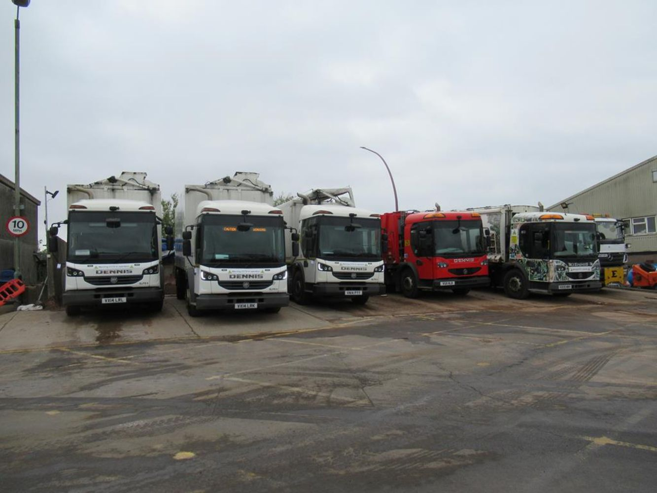 Surplus Refuse Collection Vehicles and Ground Maintenance Equipment & Boat