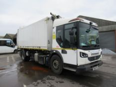 2014 Dennis Elite 6 One Pass Refuse Collection Vehicle
