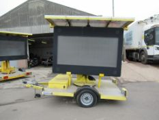 Swarco Mobile LED Variable Message Sign