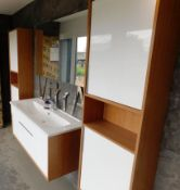Vitra Bathroom Suite comprising Wall Mounted Sink