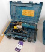 Makita 8406 Hammer Drill 110 volts in Case