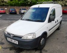 Vauxhall Combo 1700CDTI Van, Registration SL08 LPG