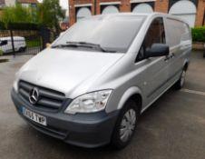 Mercedes Benz Vito 113 CDI Panel Van, Registration