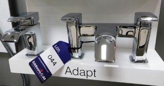 Tavistock Adapt Basin and Bath Mixer Taps