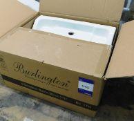 Burlington Edwardian 56cm Ceramic Basin - Boxed