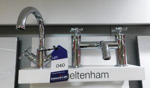 Tavistock Cheltenham Basin and Bath Mixer Taps