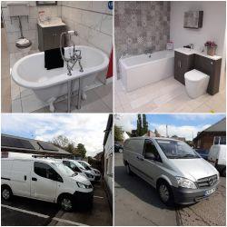 Bathroom Displays & Ford / Mercedes Vans - Ref Collins Building Solutions Ltd (In Administration)