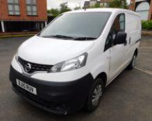 Nissan NV200 Acenta DCI Van, Registration BJ15 RUV