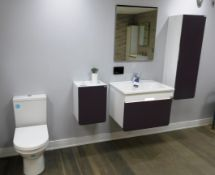 Vitra D-Light Bathroom Suite to Include Wall Mount