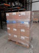 1 Pallet of M&H Plastics Market Rasen B20 26x41 Natural plastic bottles. Qty 1500/box, approx. 20