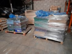 2 Pallets of 20ml & 40ml potted paints, various colours, approx. 40 trays