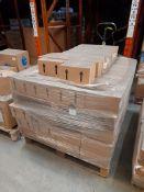 2 Pallets of The Works Store Flow Formula acrylic colour, 6 x 250ml per box, various colours