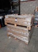 1 Pallet of The Works Store Ltd Flow Formula acrylic colour, 6 x 75ml per box - bronze & gold