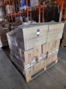 1 Mixed pallet including The Works Store Ltd Flow Formula Acrylic colour, 12 x 200ml, gold,