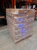 1 Pallet of Hobbycraft Shimmer paint sets, 4 x 150ml pack, 3 packs per box