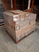 1 Pallet of Ocaldo mixed paint including glow in the dark paint, Ready Mix paint - bronze, lilac,