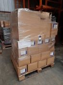 1 Mixed pallet including Asda finger paint cartons, Asda Creative Colours paint cartons and infant