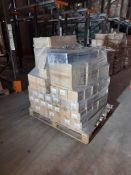 1 Pallet of mixed paint utensils including Asda Messy Mat, Chubby Brushes etc.