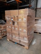 1 Pallet of Ocaldo Flow Formula Acrylic, 12 x 500ml per box - yellow hue, emerald, burnt umber etc.