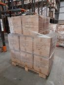1 Pallet of Hobbycraft dough tools, 120 per box, approx. 16 boxes