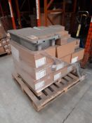 4 Mixed pallets including Education 6 Senior Block in a Palette cartons, various acrylic colours,