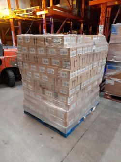 Pallets of Retail Arts & Crafts Stock