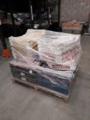 1 Pallet of various coloured dough, approx. 12 trays