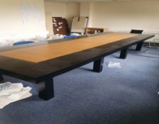 Large & Impressive Rectangular Board Room Table
