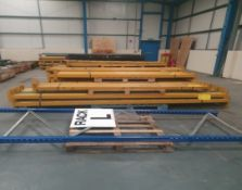 Qty of Dismantled Pallet Racking