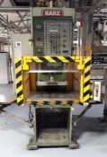 Hare Type 25HP 25 Ton High Speed Hydraulic C Frame Press