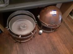 2 Round Chafing Dishes