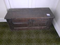 18th Century Oak Chest 1,130mm