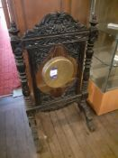 Victorian Ebonised Dinner Gong