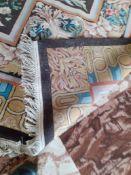 Floral Patterned Rug, 5,700mm x 4,600mm