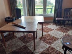 Twenty-Nine Various Tables, Eighteen Various Chair