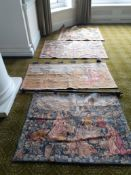4 Tapestry Wall Hangings