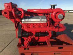 GM Detroit 8V71T Diesel Engine Ex standby