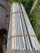 """2"""" o/d x 1.5"""" i/D 8ft steel pipes"""