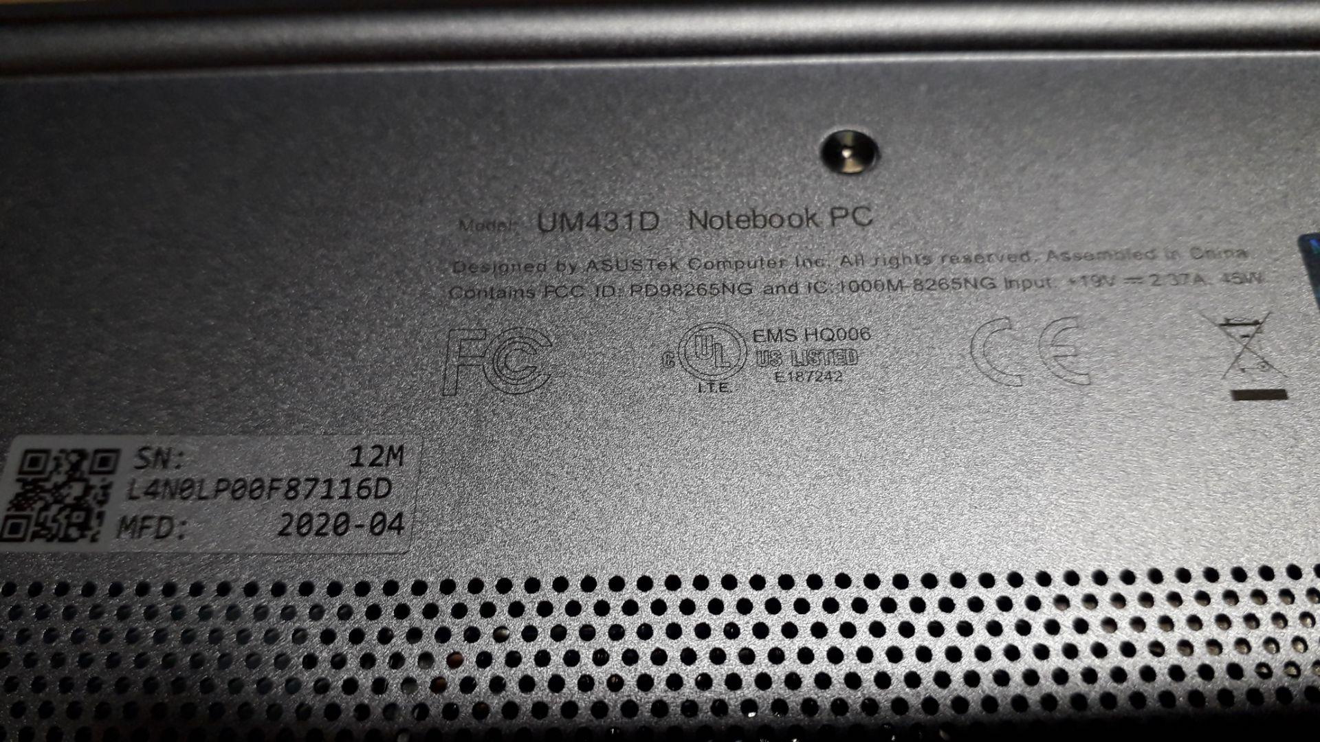 """Asus ZenBook UM431D 14"""" Ryzen 7 Laptop (2020) Seri - Image 5 of 5"""